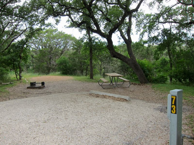 Mckinney Falls State Park Campsites With Electricity 30