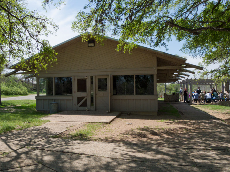 Mckinney Falls State Park Group Hall With Kitchen Texas