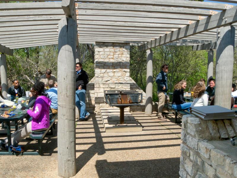 mckinney falls state park group hall with kitchen  u2014 texas parks  u0026 wildlife department