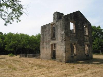 Remnants of McKinney homestead