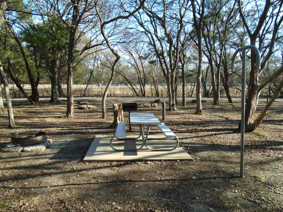 Meridian State Park Campsites (Water) in Shinnery Ridge ...