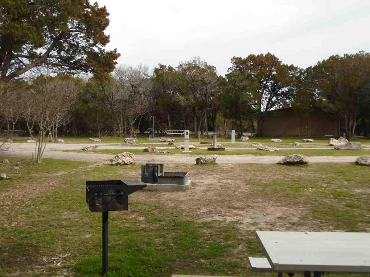 Meridian State Park Full Hookup Campsites — Texas Parks ...