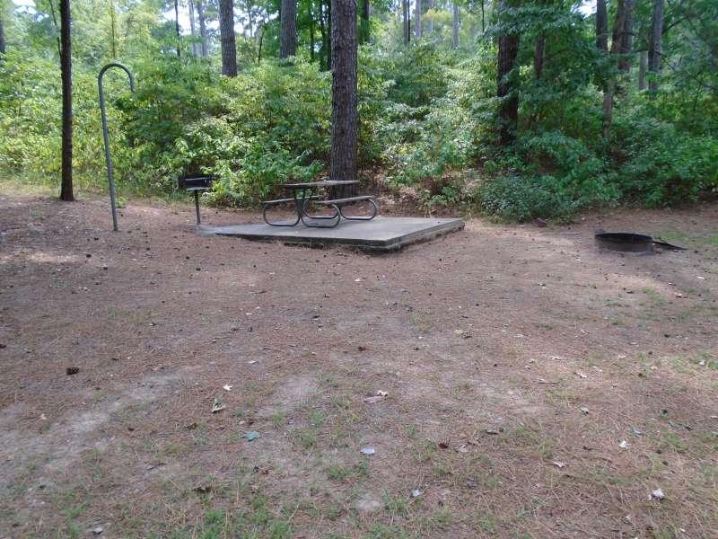 Tent Campsite B.