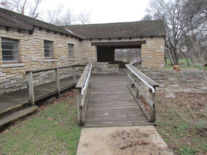 Mother Neff State Park Pavilion Breezeway Texas Parks