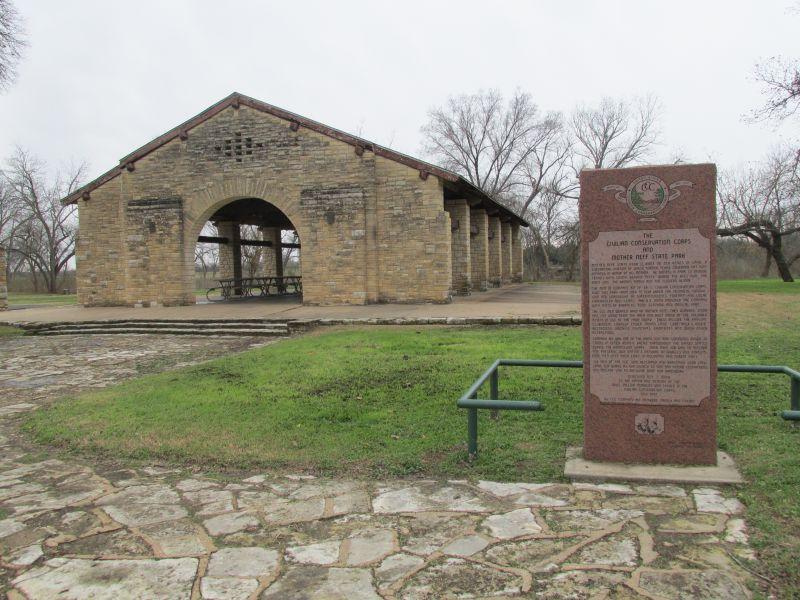 Mother Neff State Park Pavilion (Rock Tabernacle) — Texas ...