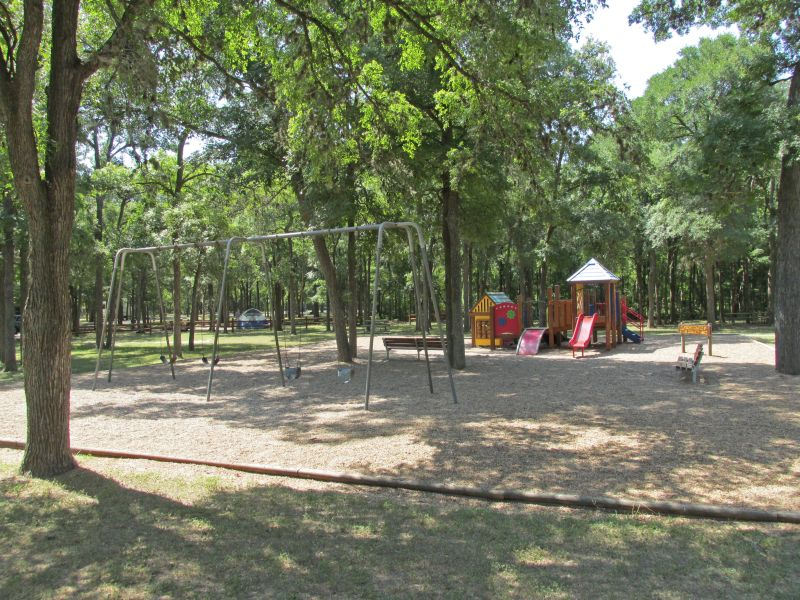 Playground in this camping area.