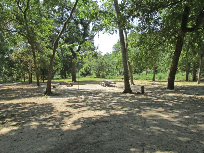 Palmetto state park group camping area texas parks for Texas fishing license cost