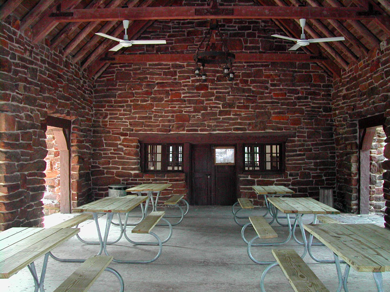 Palmetto State Park Group Picnic Pavilion With Kitchen