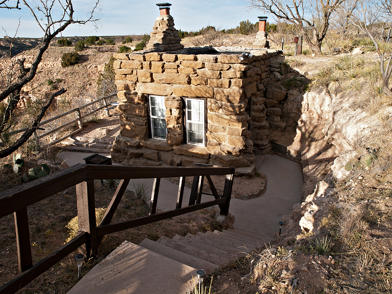 Palo Duro Canyon State Park Goodnight Cabin Texas Parks