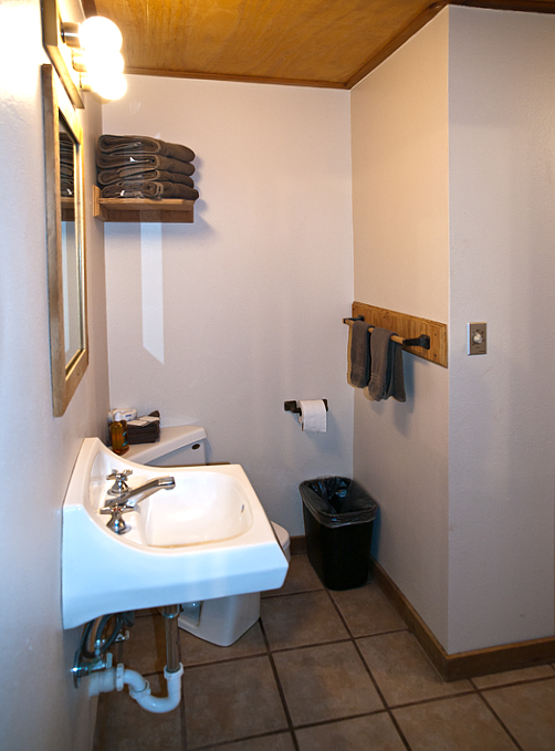 The Bathroom. Photo by John Chandler.
