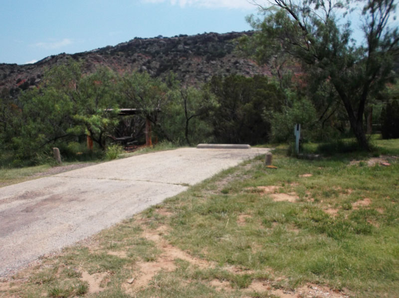 Palo Duro Canyon State Park Campsites With Electricity