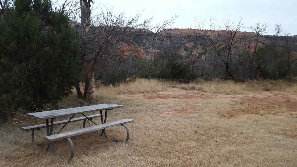The Youth Group Camping Area.