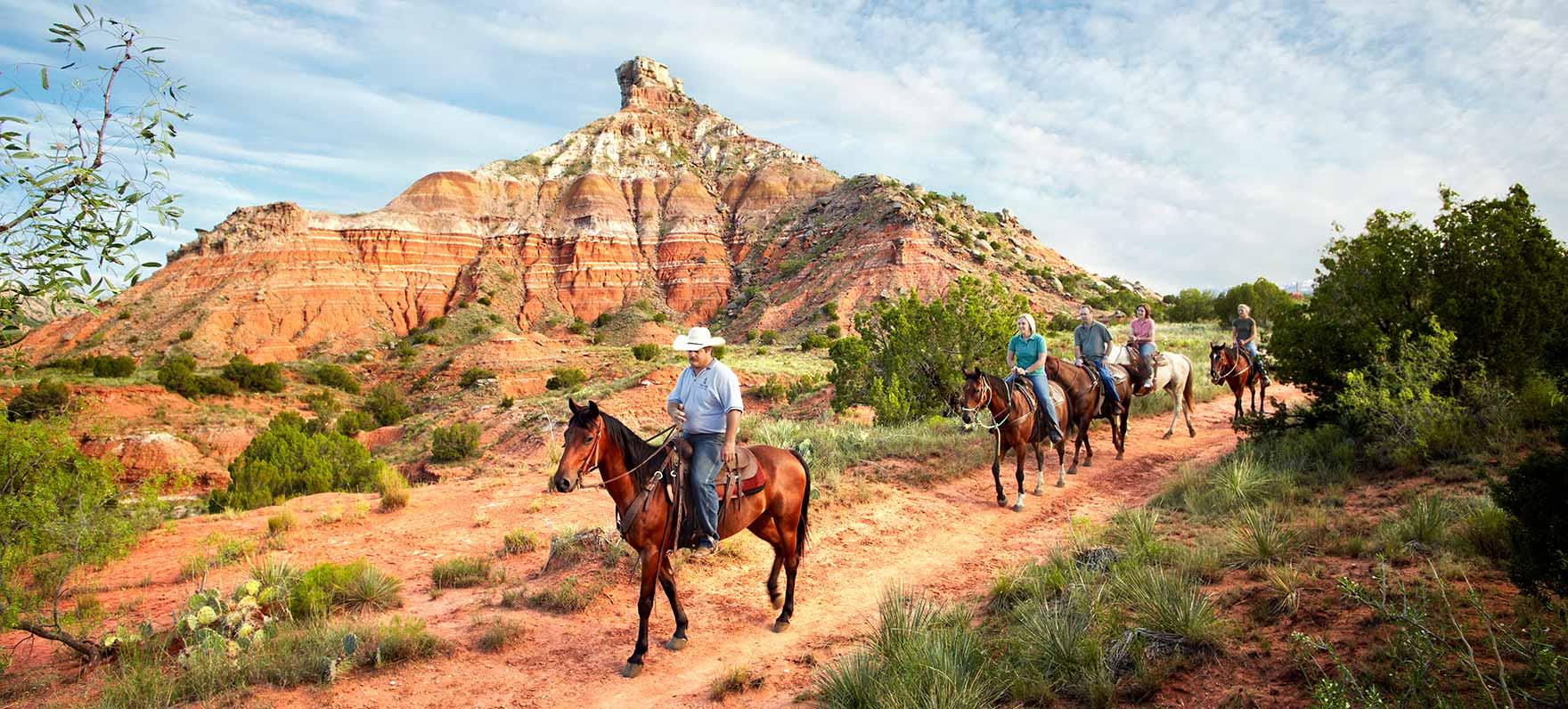 Palo Duro Canyon Horse Tours