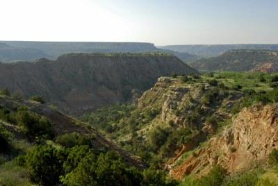 View of Palo Duro Canyon
