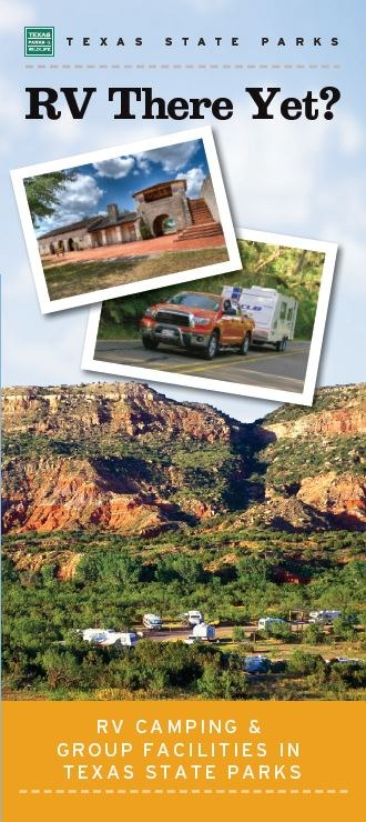 "RV Brochure Cover. Title is ""RV There Yet?"""