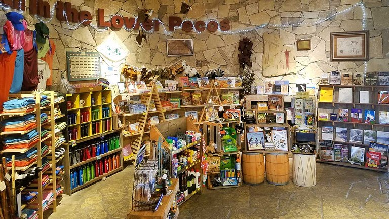 See a larger version of this image of the Seminole Canyon State Park Store.