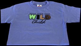 """t-shirt that says """"Texas State Park Wild Child"""""""