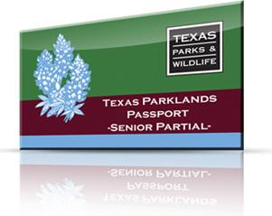 image of Texas Parklands Passport card