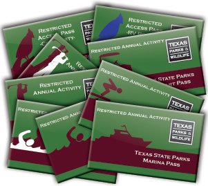 image of a variety of pass cards
