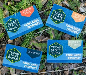 image of Texas Parklands Passport cards