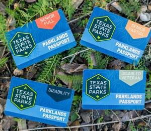 image of Texas Parklands Passport cards