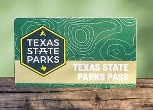 image of state parks pass card
