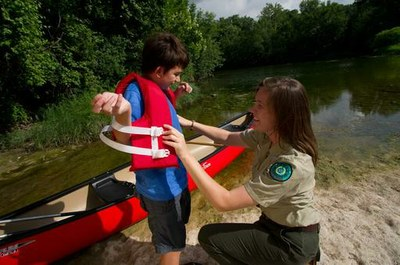Children should wear life jackets