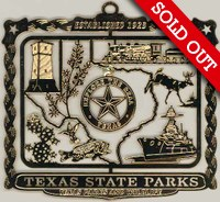 2002 Texas State Parks Ornament (sold out)