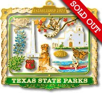 2011 Texas State Parks Ornament (sold out)