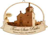 2013 Texas State Park Ornament Collection (Goliad Mission).
