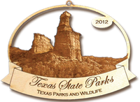 2012 Texas State Park Ornament Collection (Palo Duro Canyon).