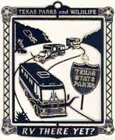 Rv There Yet Ornament - Texas State Parks Ornament
