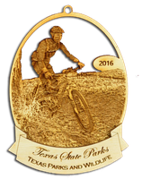 2016 Texas State Park Ornament Collection (Mountain Biking at Tyler).