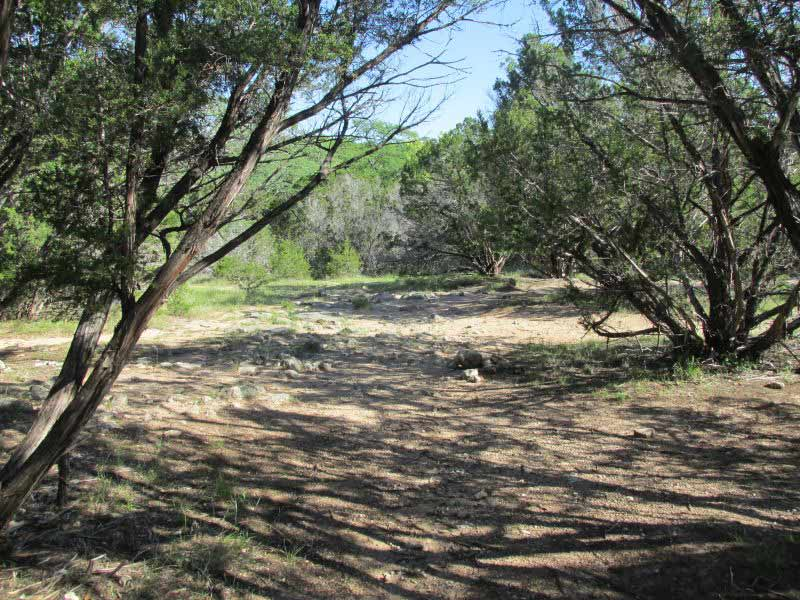 Pedernales Falls State Park Primitive Campsites Hike In