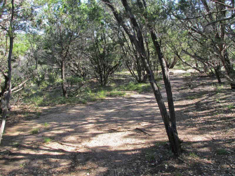 Pedernales Falls State Park Primitive Campsites Hike In