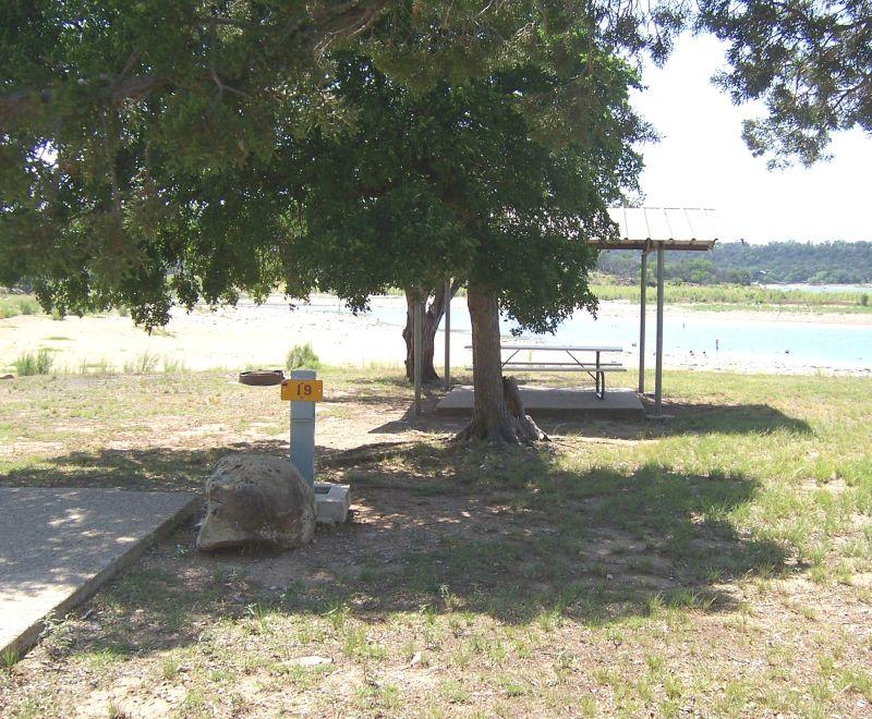 Possum Kingdom State Park Premium Campsites With Water And