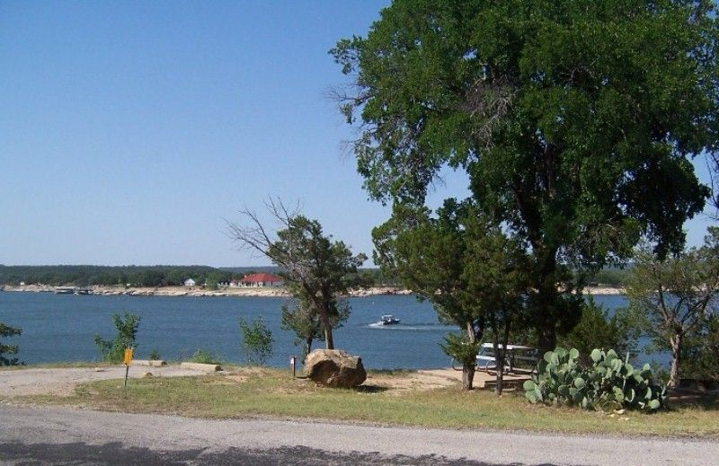 Possum Kingdom State Park Campsites With Water Texas