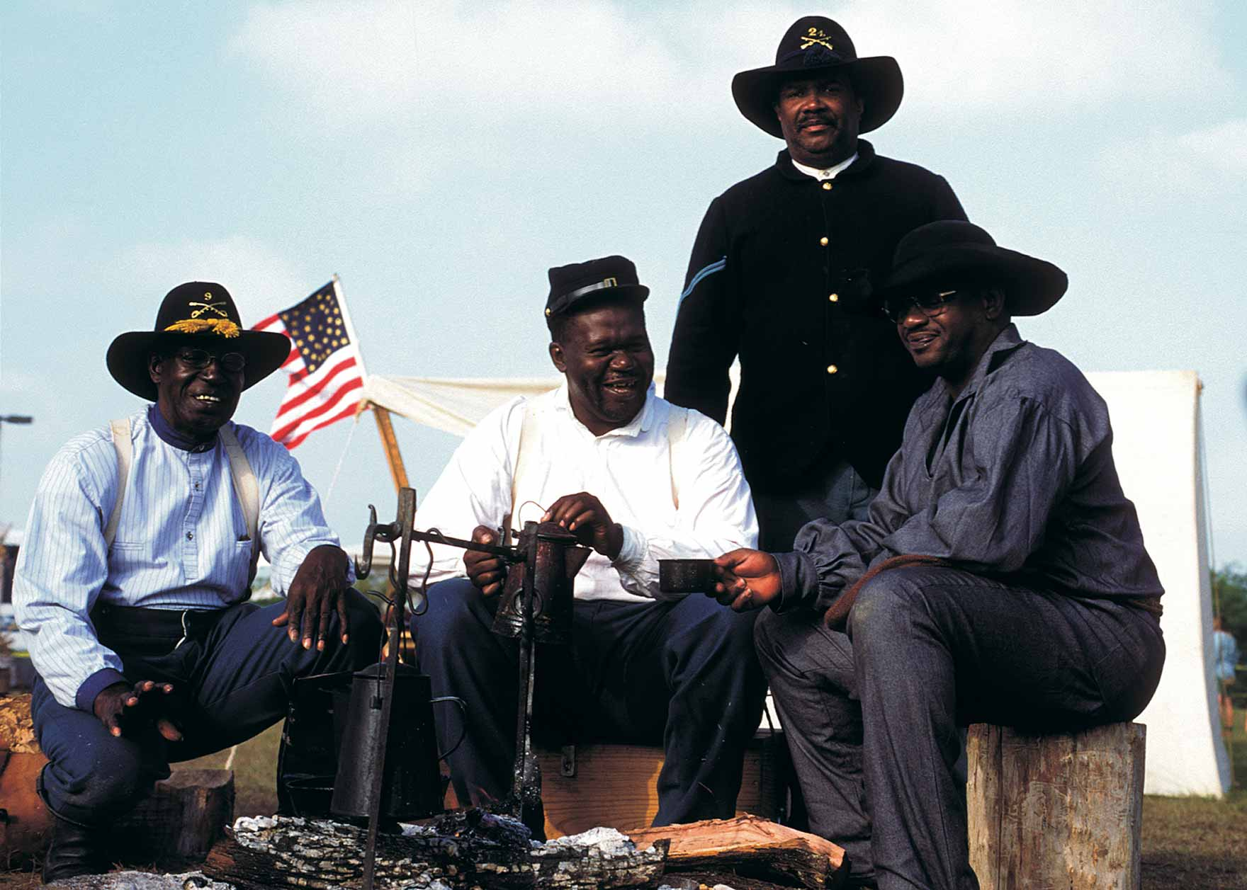 the buffalo soldiers Come and visit the historical buffalo soldier national museum and learn more  about not only african american history but american history as well the goal of .