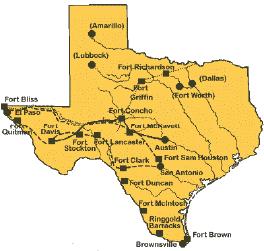 Davis Mountains Texas Map