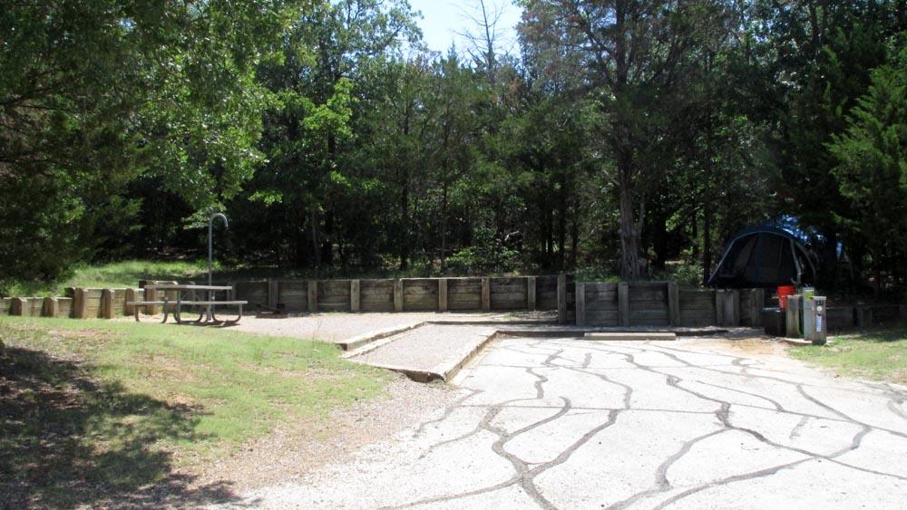Site #31 in the Juniper Cove area.