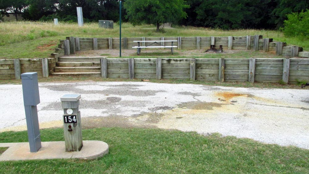Site #154 in the Quail Run area.