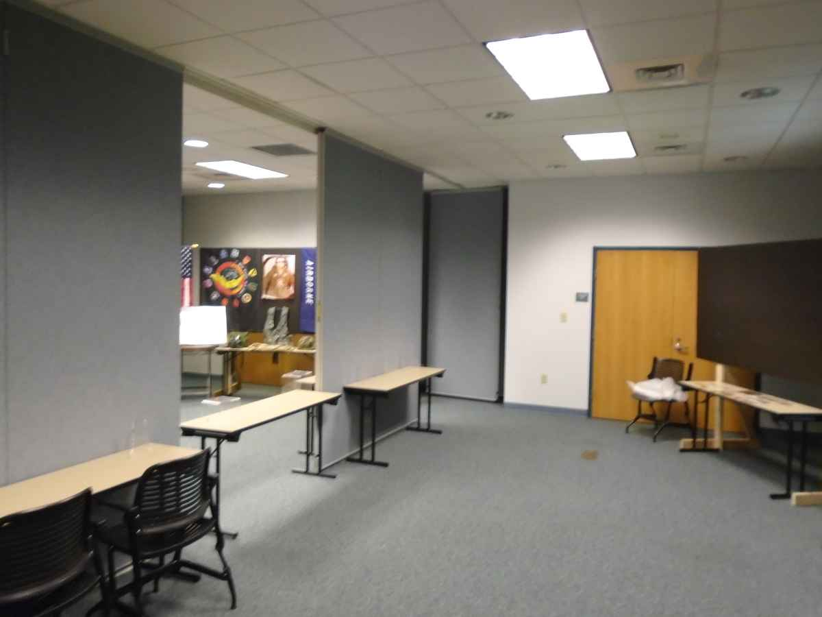 The Meeting Room can be set up in different ways.