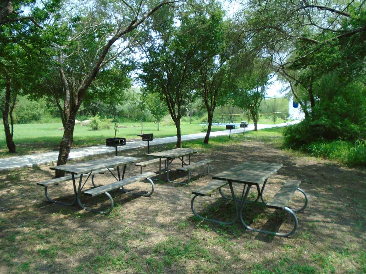 There is a picnic area just down from the Pavilion.