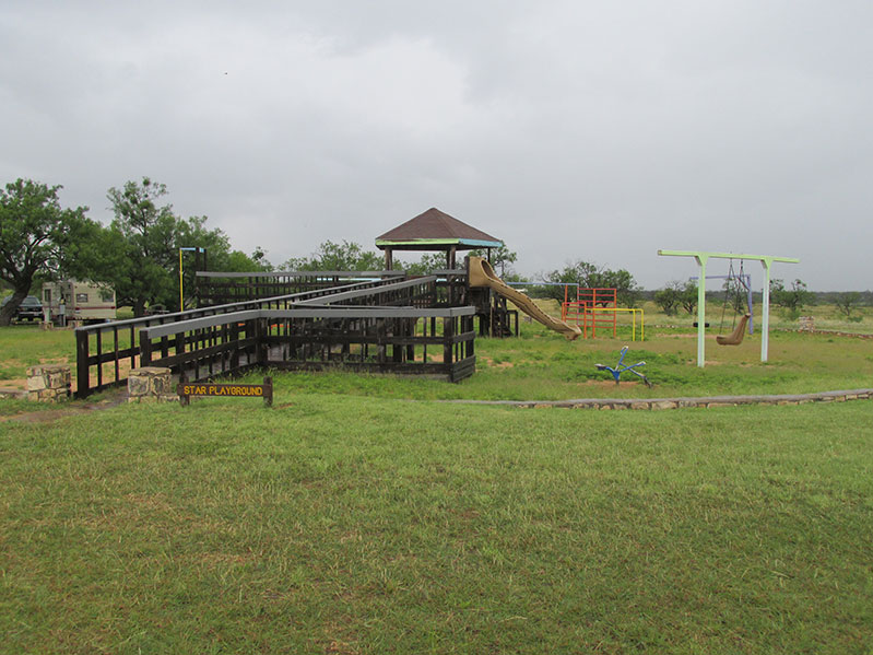 Playground near Red Arroyo Camping area.