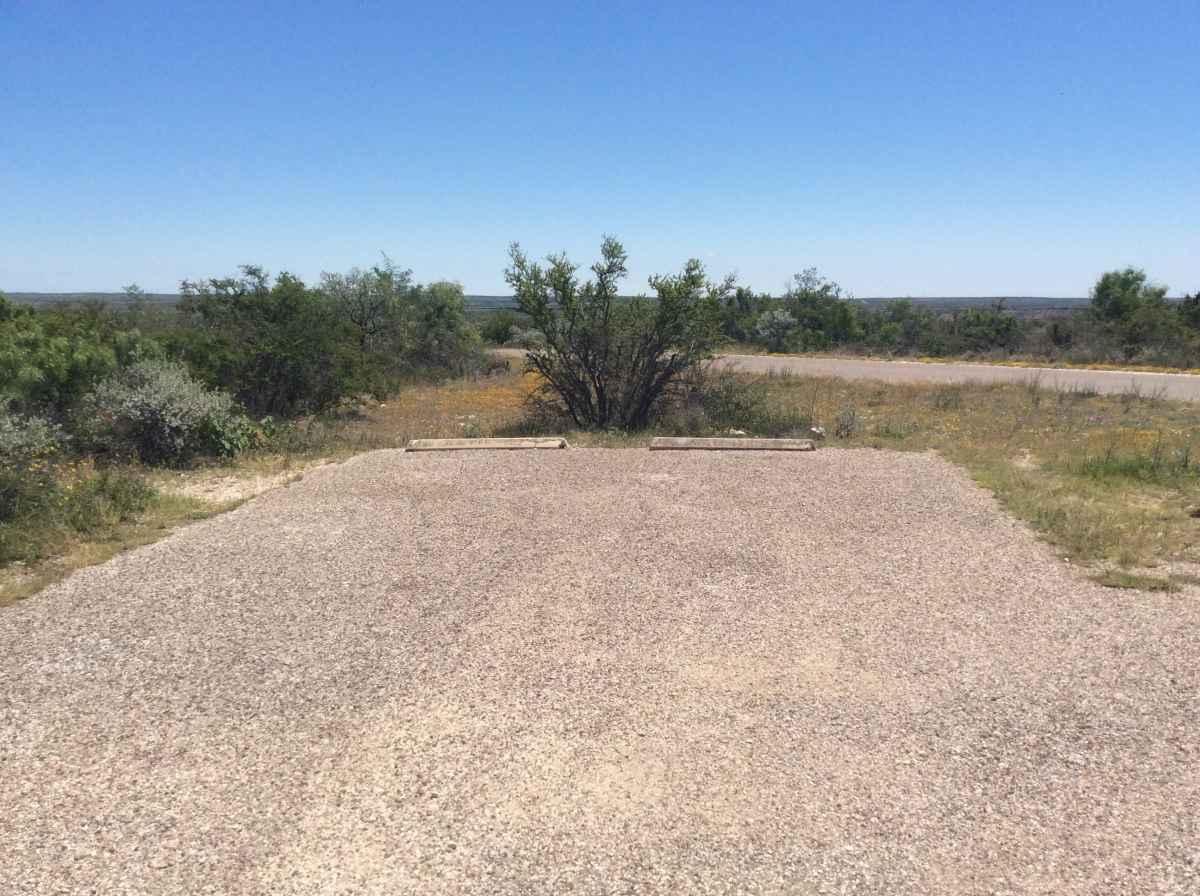 Campsite 9 in Desert Vista Camping Area.