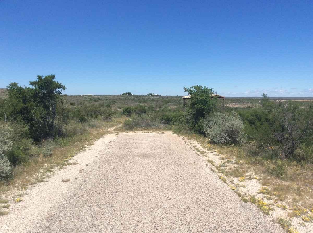 Campsite 17 in Desert Vista Camping Area.
