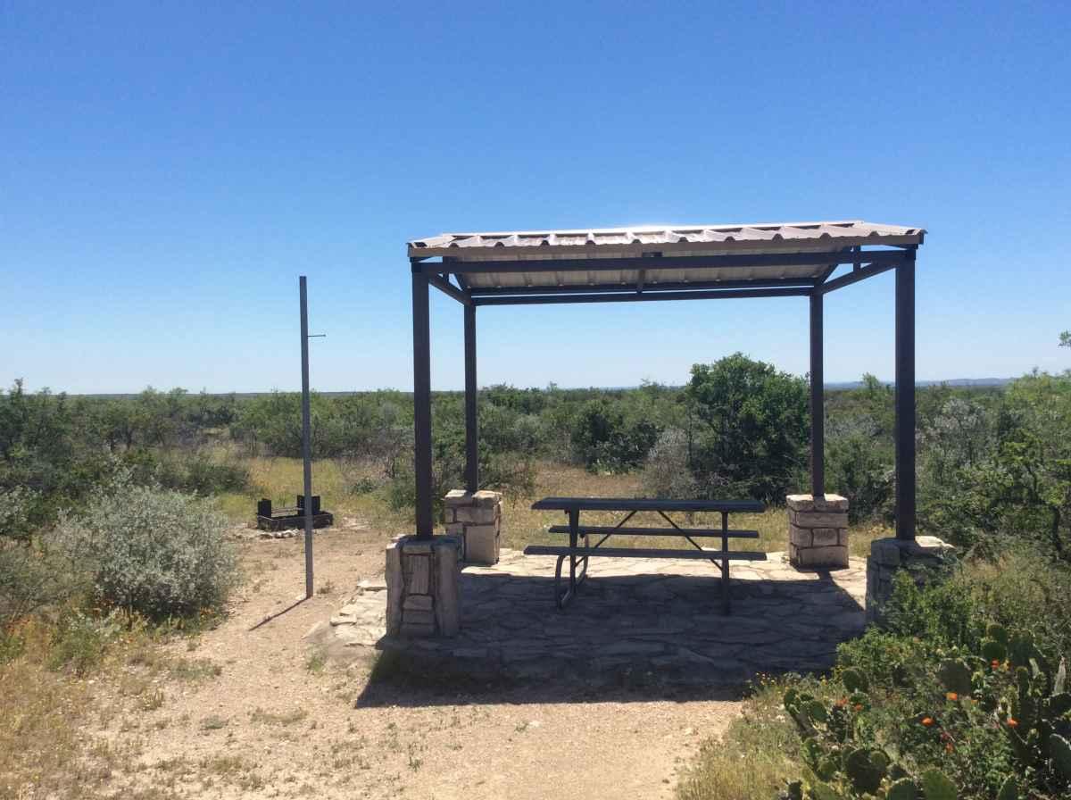 Campsite 3 in Desert Vista Camping Area.