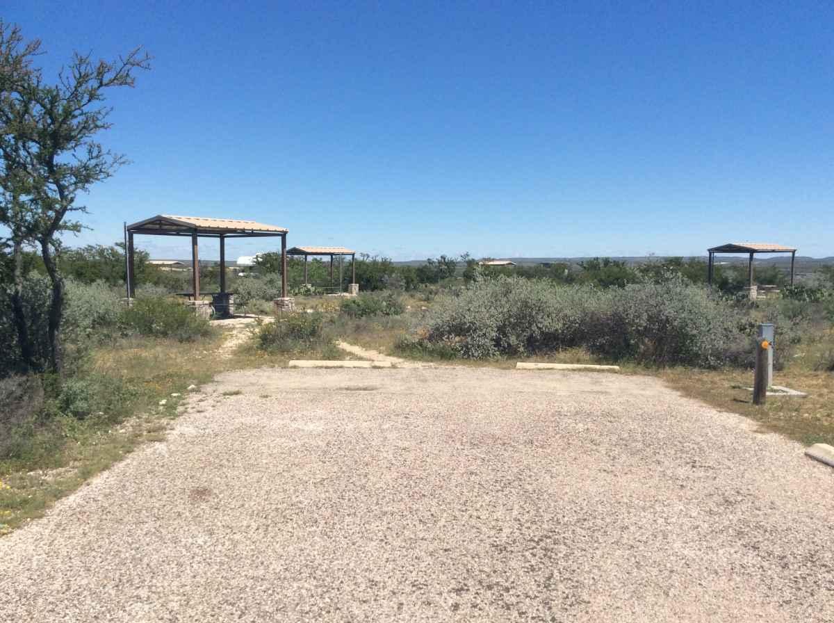 Campsite 4 in Desert Vista Camping Area.