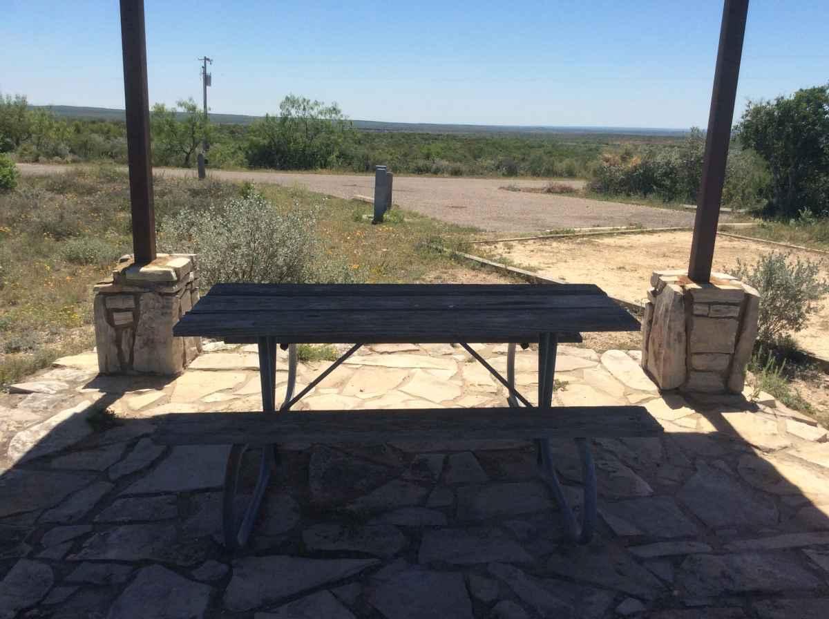 Campsite 30 in Desert Vista Camping Area.