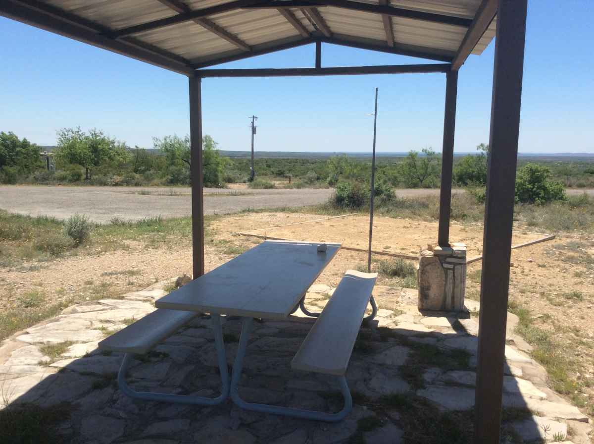 Campsite 31 in  Desert Vista Camping Area.